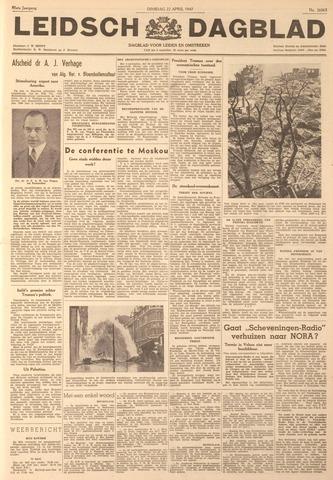 Leidsch Dagblad 1947-04-22