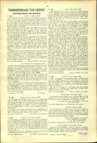 Handelingen van de Raad 1897-10-09