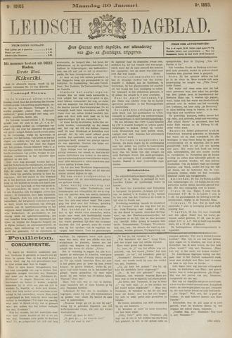 Leidsch Dagblad 1893-01-30