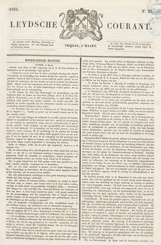 Leydse Courant 1855-03-02