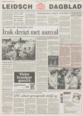 Leidsch Dagblad 1990-08-07