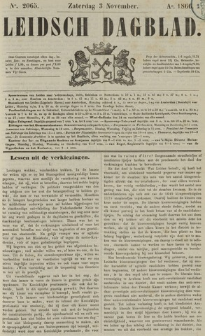Leidsch Dagblad 1866-11-03