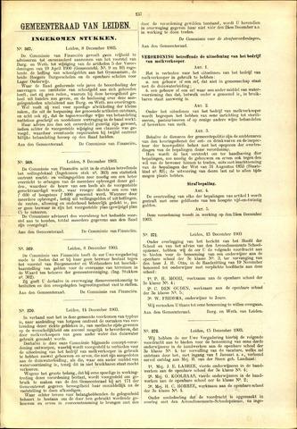 Handelingen van de Raad 1903-12-08