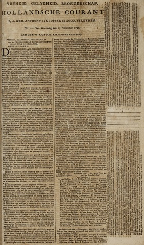 Leydse Courant 1795-11-25