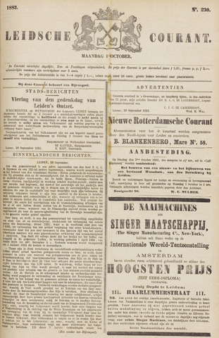 Leydse Courant 1883-10-01