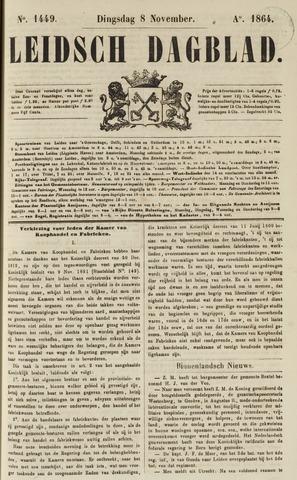 Leidsch Dagblad 1864-11-08