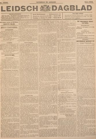 Leidsch Dagblad 1926-01-30