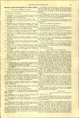 Handelingen van de Raad 1913-11-27
