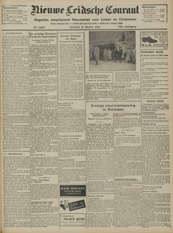 Nieuwe Leidsche Courant 1939-03-31