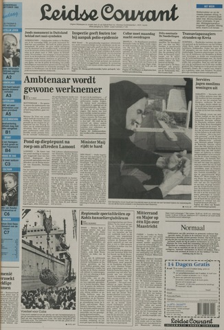 Leidse Courant 1992-10-01
