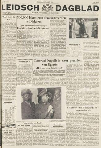 Leidsch Dagblad 1954-03-01
