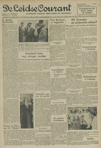 Leidse Courant 1951-04-04