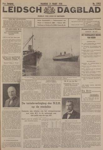 Leidsch Dagblad 1938-03-21