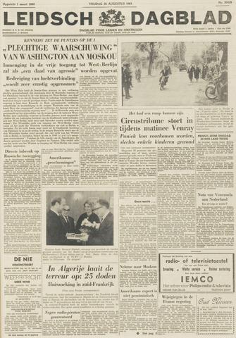 Leidsch Dagblad 1961-08-25