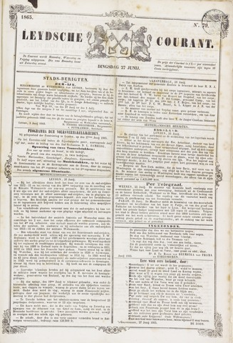 Leydse Courant 1865-06-26
