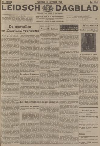 Leidsch Dagblad 1940-11-20