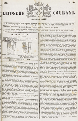 Leydse Courant 1871-07-05
