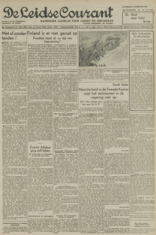 Leidse Courant 1949-02-19