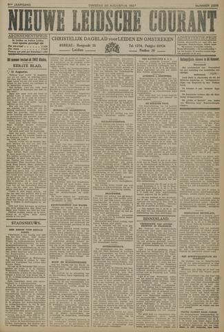 Nieuwe Leidsche Courant 1927-08-30