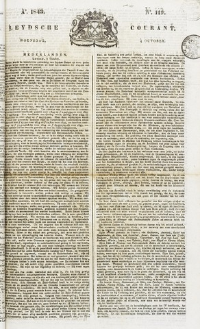 Leydse Courant 1843-10-04