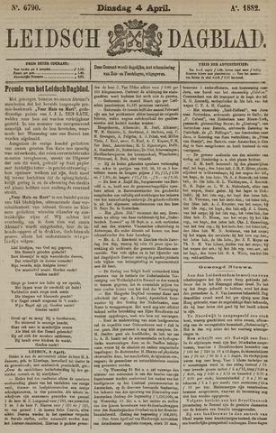 Leidsch Dagblad 1882-04-04