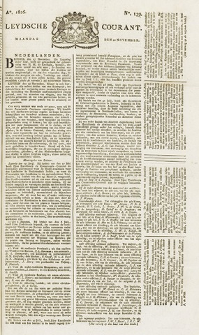 Leydse Courant 1826-11-20