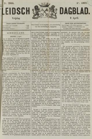 Leidsch Dagblad 1869-04-02