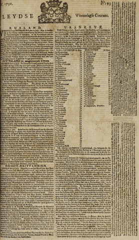 Leydse Courant 1751-08-04