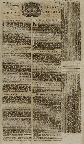Leydse Courant 1811-04-29