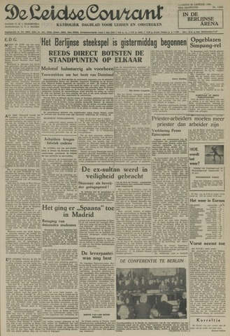 Leidse Courant 1954-01-26