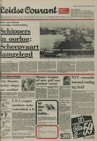 Leidse Courant 1975-08-25