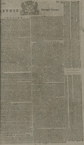 Leydse Courant 1743-11-08