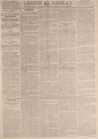 Leidsch Dagblad 1919-02-01