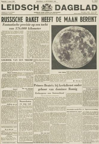 Leidsch Dagblad 1959-09-14