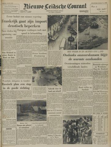 Nieuwe Leidsche Courant 1957-06-18
