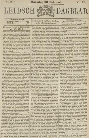 Leidsch Dagblad 1885-02-23