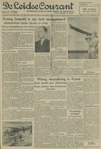 Leidse Courant 1950-07-22