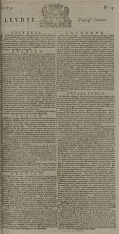 Leydse Courant 1739-01-30