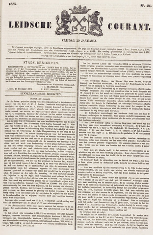 Leydse Courant 1875-01-29