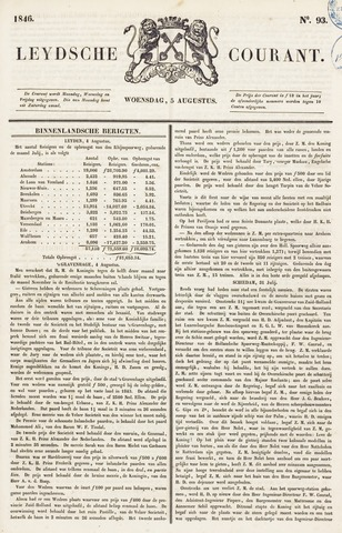 Leydse Courant 1846-08-05