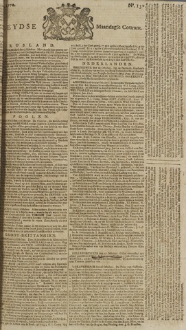 Leydse Courant 1770-10-29