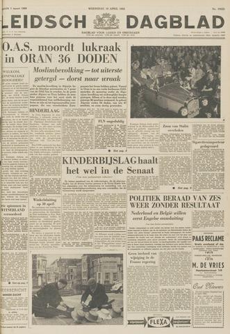 Leidsch Dagblad 1962-04-18