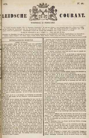 Leydse Courant 1872-02-21