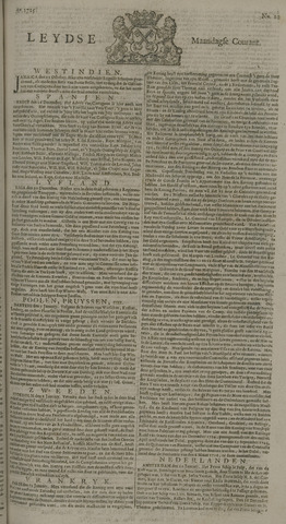 Leydse Courant 1725-01-22