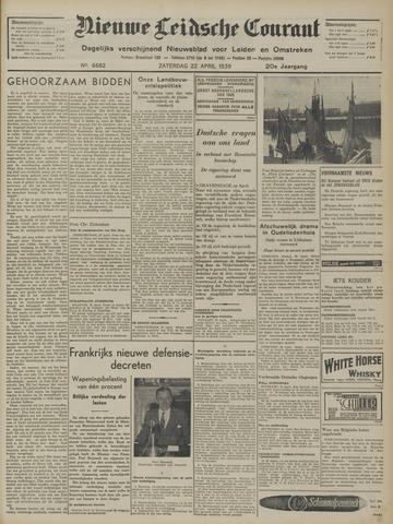 Nieuwe Leidsche Courant 1939-04-22