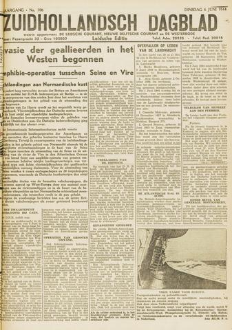 Zuidhollandsch Dagblad 1944-06-06