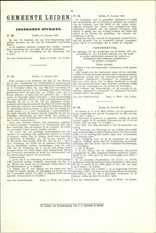 Handelingen van de Raad 1947-01-31
