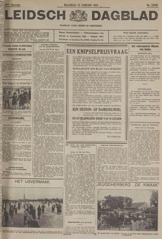 Leidsch Dagblad 1933-01-23