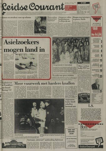 Leidse Courant 1988-12-31