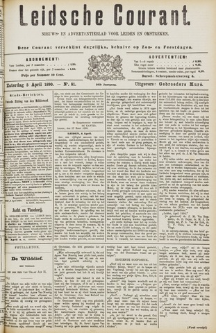 Leydse Courant 1890-04-05